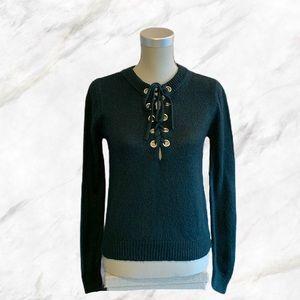 F21 | Dark Forest Green Cozy Sweater